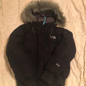 The northface puffer jacket